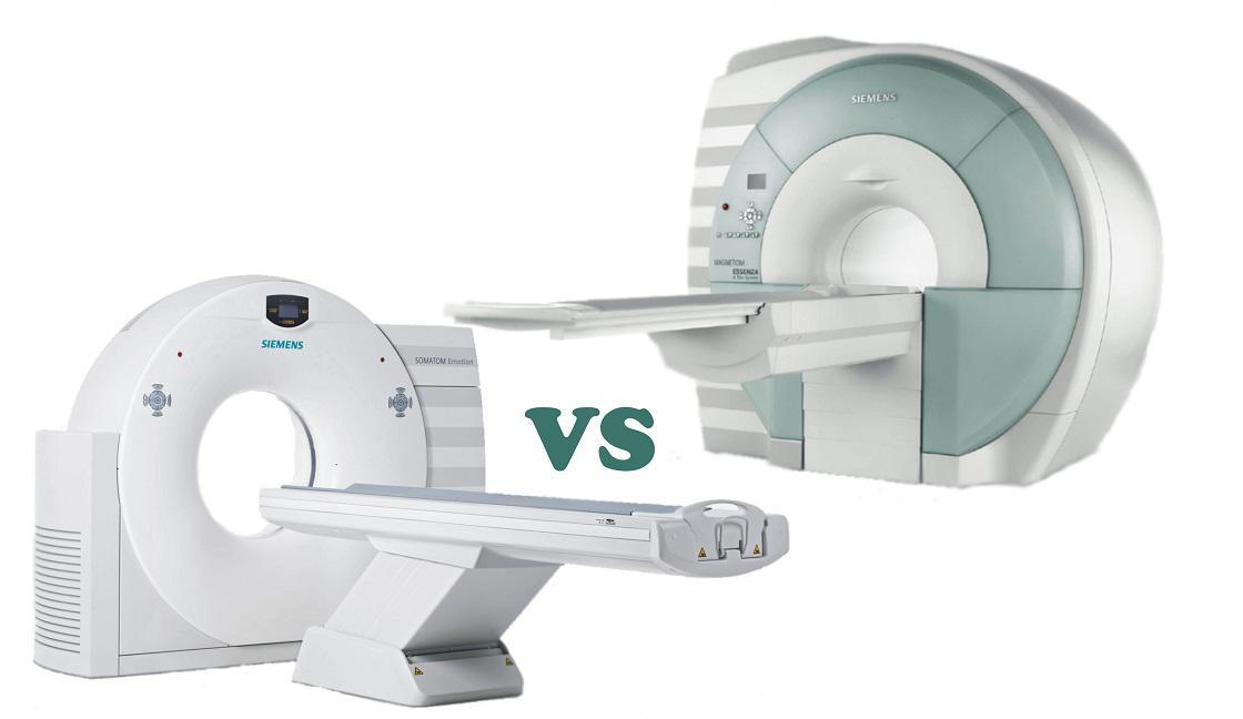 Что лучше, КТ или МРТ?